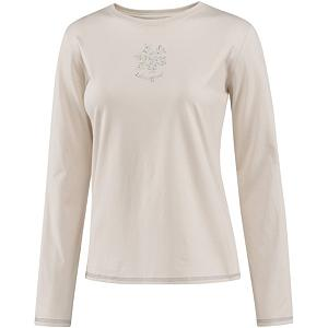 Snowboard Life Is Good Sleep Long Sleeve Delightful Snowflake Womens Shirt - When you wear the Delightful Snowflake Sleep Tee by Life is Good, you will be comfy, cozy and warm every night! You may feel like your dreaming while wearing this 100% cotton and lightweight, soft sleep tee but wake up! It's real stylish and comfortable and will as you wipe your eyes in the morning you'll remember that Life is Good! . Hood Type: None, Material: 100% Cotton, Fleece Weight: None, Category: Light-Weight, Hood: No, Warranty: Lifetime, Battery Heated: No, Type: Crew/Mock Top, Wind Protection: No, Type: Tees, Material: Cotton, Pockets: None, Wicking Properties: No, Type: Long Sleeve, Water Resistant: No, Model Year: 2013, Product ID: 269512 - $30.00