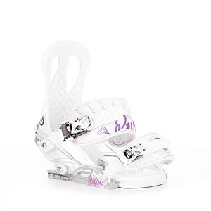 Snowboard Burton Citizen Womens Snowboard Bindings 2013 - Burton understands what women want, and have answered the call with the Citizen binding as it was specifically tailored for a glove-like fit. The Hi-back is composed of an ultra lightweight single component for exceptional response in a variety of conditions. On the flip side, the baseplate is constructed from a durable polycarbonate with EVA cushioning for a comfortable ride; it also has the Gas Pedal feature that heightens toe edge response while reducing drag. And the ankle strap with the 3D curvature and EVA padding working with the Adaptastrap toe strap? Keeps your feet locked in place for a perfect synergy with the board. Be the model Citizen. . Flex: Soft, HighBack: Soft Flexing, Ultra-Lightweight Single-Component, Buckles: Chrome-Plated Aluminum, Warranty: One Year, Chassis Material: Plastic, Skill Range: Beginner - Advanced Intermediate, Model Year: 2013, Product ID: 233114, Shipping Restriction: This item is not available for shipment outside of the United States., Gender: Womens, Skill Level: Beginner, Binding Compatibility: Standard 4 Hole, Burton 3D and Burton ICS, Standard 4 Hole Compatible: Yes, Traditional Burton (3D) Compatible: Yes, ICS Channel Compatible: Yes, Canted Footbed: No, Quick Entry: No, Toe Strap Style: Traditional, Strap Material: Lushstrap and Adaptastrap, Recommended Use: All-Mountain - $79.95