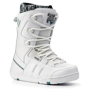 Snowboard Ride Orion Womens Snowboard Boots - Designed for the progressing female rider the Ride Orion Snowboard Boots provide you with comfort and user friendly performance. These boots feature the Body Active Plush Foam Liner that combines a heat moldable Intuition liner technology for super cush support and a great fit. The Lock Down Speed Lacing allows you to get in and out of these boots quick and easy. . Material: Full Synthetic Upper, Lacing Style: Quick Lace, Recommended Use: Freestyle, Removable Liner: Yes, Flex: Medium, Warranty: One Year, Intuition Liner: Yes, Brand Lacing Style: Lock Down Speed Lace, Skill Range: Beginner - Advanced Intermediate, Model Year: 2008, Product ID: 265732, Shipping Restriction: This item is not available for shipment outside of the United States., Gender: Womens, Skill Level: Beginner - $49.99