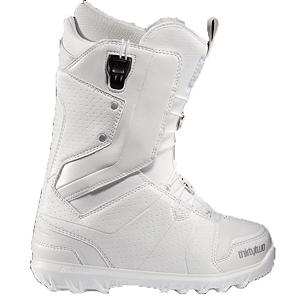 Snowboard ThirtyTwo Lashed FT Womens Snowboard Boots - The Womens ThirtyTwo Lashed FT snowboard boots is the all-star of ThirtyTwo boots and features the four zone FastTrack Lacing system. The Womens Lashed FT is the perfect blend of form and function and the FastTrack Lacing will allow you to have more time on the hill. Any rider who is obsessed with snowboarding needs to purchase this boot. STI Evolution Foam provides better cushioning than traditional foam materials and dramatically lowers the weight of this boot. Comes with a Level 3 liner that is heat moldable for a custom fit and an Aegis anti-microbial coating that helps eliminate odor. The Womens Lashed FT from ThirtyTwo is must have purchase for any female ripper this season. Features: STI Evolution Foam. Material: Level 3 Liner, Lacing Style: Quick Lace, Recommended Use: All-Mountain Freestyle, Removable Liner: Yes, Flex: Medium, Warranty: One Year, Intuition Liner: Yes, Brand Lacing Style: Fast Track, Skill Range: Advanced Intermediate - Expert, Model Year: 2012, Product ID: 296365, Gender: , Skill Level: Advanced Intermediate - $119.94