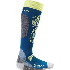 Snowboard Burton Merino Phase Womens Snowboard Socks - Frozen feet while riding is far from fun and wasting time just warming them up in the lodge takes away from an awesome day on the mountain. The cure? Burton Merino Phase Snowboard Socks. Made with a blend of fabrics you'll have the comforts and natural moisture wicking Merino keeping you warm and technologies like NanoGLIDE eliminating friction and wicking away moisture as well. The Polypropylene Reinforced Footbed keeps you dry and fights any odor so you don't clear a room when you remove your boots. There's plenty of cushioning on the instep, shin and calf which will decrease pressure as you carve into the mountain. Elastic Arch and Ankle Supports as well as Sock Lock Reinforcements will keep these socks in place and reduce any bunching up. For comfy, cozy and warm toes go with the Burton Merino Phase Socks. Features: DRYRIDE Venting Toe Panels, Ergonomic, articulated Left and Right MotionFit, Stay High Comfort Band. Battery Heated: No, Material: Wool/Synthetic Blend, Type: Snowboard, Weight: Light, Model Year: 2013, Product ID: 289506, Shipping Restriction: This item is not available for shipment outside of the United States. - $25.95