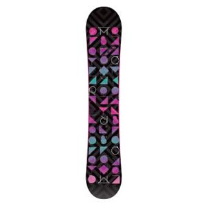 Snowboard Morrow Kava Womens Snowboard - The Morrow Kava is the top selling snowboard in the Morrow line. The Kava has a 100 percent Elevated wood core that will give you a smooth and responsive ride and combine that with Morr-Rock rocker you will also be able to land your tricks easier and it will prevent edge catch. A die-cut base makes this a durable board for speed and performance and the aggressive radial sidecut gives you quicker, more powerful turns. The Morrow Kava has been designed for women who want a top performing board in a stylish package. Features: UV coating on topsheet for a deep wet look. Actual Turn Radius @ Specified Length: 7.3m (@145cm), Base Name: Die-Cut Base, Stance Width: 19-20in, Stance Setback: Centered, Special Features: 360 Degree Edge, Construction Type: Sidewall Construction, Base Material: Extruded P-tex, Warranty: One Year, Skill Range: Beginner - Advanced Intermediate, Model Year: 2012, Product ID: 267459, Shipping Restriction: This item is not available for shipment outside of the United States., Gender: Womens, Skill Level: Beginner, Magnatraction: No, Hole Pattern: Standard 4 Hole, Core Material: Wood, Rocker Type: Morr-Rock, Board Width: Regular, Pipe Oriented: No, Flex: Soft, Shape: Twin, Rocker Profile: Rocker, Waist Width: 240mm (@145cm), Recommended Use: Freestyle, Core Name: Elevated Core - $119.94