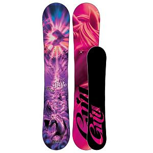 Snowboard Gnu B-Pro C2 BTX Womens Snowboard 2013 - The GNU B-Pro is the board that keeps pushing the standards of what a womens snowboard should be. Continuing its rain of supreme with another Good Wood award and is a snowboard that truly is in a league of its own. Rocking the C2BTX with Magnetraction gives women smooth graceful turning in variable snow conditions, while camber provided in the tip and tail provide stability and pop for landings and control in crucial situations. Banana between your feet allow for easy pow runs and control in variable snow conditions. New for this year GNU added LCP fiber giving the B-Pro a lightweight, strong, and smooth ride everyday. The GNU B-Pro is the perfect snowboard for the women that truly want one snowboard that can kill it in every category. Also GNU donates a portion of the profit to B4BC (Boarding for Breast Cancer). . Actual Turn Radius @ Specified Length: 8.1m(@149cm), Base Name: Sintered Base, Core Name: AG2 Sustainable Core, Recommended Use: All-Mountain Freestyle, Waist Width: 242mm(@149cm), Stance Width: 19.24-24in, Stance Setback: Centered, Special Features: LCP Fiber, Rocker Profile: Rocker with Camber, Shape: Twin, Flex: Stiff, Pipe Oriented: Yes, Board Width: Regular, Rocker Type: C2 BTX, Core Material: Wood, Construction Type: Sidewall Construction, Hole Pattern: Standard 4 Hole, Magnatraction: Yes, Base Material: Sintered P-tex, Warranty: One Year, Skill Range: Advanced Intermediate - Expert, Model Year: 2013, Product ID: 270936, Shipping Restriction: This item is not available for shipment outside of the United States., Gender: Womens, Skill Level: Advanced Intermediate - $399.99