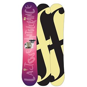 Snowboard Forum Spinster DoubleDog Womens Snowboard - The Forum Spinster is a womens best friend on the hill. Capable of making the boys drool and putting there tails between there legs as you tear the park apart. With the playful power of DoubleDog camber/rocker blend and Booter Boosters in the nose and tail, perfecting the ollie was yesterdays news. Swingers Club reduces the overall weight of the Spinster and the new faster Formula base keeps the Spinster flying across the snow with ease. Women now can show up and lay down the law in the park with the Spinster. . Actual Turn Radius @ Specified Length: N/A, Base Name: Formula Base, Core Name: Gnar Core with Booter Booster, Stance Width: 20in, Stance Setback: Centered, Special Features: Booter Booster, Flex: Medium, Rocker Type: DoubleDog, Core Material: Wood with Carbon, Construction Type: Sidewall Construction, Hole Pattern: Standard 4 Hole, Magnatraction: No, Base Material: Sintered P-tex, Warranty: One Year, GTIN: 0886057840031, Model Number: 276118S148, Gender: Womens, Product ID: 271452, Skill Level: Advanced Intermediate, Model Year: 2013, Skill Range: Advanced Intermediate - Expert, Board Width: Regular, Pipe Oriented: No, Shape: Twin, Rocker Profile: Rocker with Camber, Waist Width: 240mm(148cm), Snowboard Best Use: Freestyle - $179.89