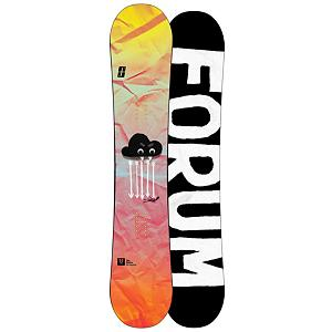 Snowboard Forum Sauce Womens Snowboard - You know when you are a badass chick? If you have no idea the Forum Sauce will make you badass as your laying down the law thanks to the Womens ChillyDog profile, The womens ChillyDog has a lower rocker height and a softer core profile between the feet which will make for a better ride for us ladies because of our smaller shape and size. These twin cannon is a little smoother and softer between the feet, packing an easy ride as you roll past everyone and laugh as you press with style and grace. With the Bad Ass Core good luck causing any damage to the core, built like a tank. Swingers Club allows for a lighter weight construction that benefits when throwing effortless spins in the air or simple easy 180 reverts. . Actual Turn Radius @ Specified Length: N/A, Base Name: FreeBase, Core Name: Bad Ass Core, Recommended Use: Freestyle, Waist Width: 242mm(147cm), Stance Width: 19-20in, Stance Setback: Centered, Special Features: Swingers Club, Rocker Profile: Rocker, Shape: Twin, Flex: Soft, Pipe Oriented: No, Board Width: Regular, Rocker Type: Womens ChillyDog, Core Material: Wood, Construction Type: Sidewall Construction, Hole Pattern: Standard 4 Hole, Magnatraction: No, Base Material: Extruded P-tex, Warranty: One Year, Skill Range: Beginner - Advanced Intermediate, Model Year: 2013, Product ID: 271454, Gender: Womens, Skill Level: Beginner - $199.95