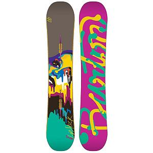 Snowboard Burton Lip-Stick Womens Snowboard - When Burton wants you to put Lip-Stick on, they aren't talking about makeup. The Burton Lip-Stick snowboard is fast and loose thanks to the Flat Top profile. The flat profile between the feet means you're going to feel super stable, balanced, and have superb edge control. The early kick-ups in the tips outside the feet provide the loose feeling and float that you'd expect from a rocker. Jumper Cables will help you boost to Jupiter with a single olly. Frostbite Edges underfoot give you plenty of grip for those icy park laps. Ellip kicks enhance float so you can get surfy on the pow pow. Pro-Tip tip taper makes spinning for days as easy as petting a panda cub. You know how snowboards have a break-in period? Not the Burton Lip-Stick! Thanks to Infinite Ride, the Lip-Stick will ride the same from day 1 to day 100. We think your local mountain needs some Lip-Stick. Features: Ellip Kicks, Infinite Ride, Pro-Tip. Actual Turn Radius @ Specified Length: 7.4m(152cm), Base Name: Sintered, Core Name: True Flex Super Fly, Waist Width: 240mm (@149cm), Stance Width: 505-530mm, Stance Setback: Centered, Special Features: Jumper Cables, Rocker Profile: Flat, Shape: Twin, Flex: Medium, Board Width: Regular, Rocker Type: Flat Top, Core Material: Wood, Construction Type: Sidewall Construction, Hole Pattern: Burton ICS Channel, Magnatraction: No, Base Material: Sintered P-tex, Warranty: One Year, Skill Range: Advanced Intermediate - Expert, GTIN: 9009004626286, Model Number: 276071 149, Gender: Womens, Shipping Restriction: This item is not available for shipment outside of the United States., Product ID: 271609, Model Year: 2013, Pipe Oriented: No, Snowboard Best Use: All-Mountain Freestyle, Skill Level: Advanced Intermediate - $299.91