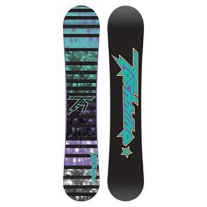 Snowboard Tech Nine Jib Black Womens Snowboard - The Technine women's Jib is the built for shredding the park and it has its sights set on female freestyle shred Betties of the world. Step your jib game up with the help of the Jib's soft flex and consistent pop. This board is fun and easy to ride, which is why it won TransWorld's Good Wood award two years in a row. Technine kept the ingredients in this board simple and sweet and just focused on what it takes to make a board that will be dependable all season long. If your thing is destroying park kickers, pressing up on boxes, or sliding some metal, the Jib Black is the perfect schtick for you. . Base Name: P-Tex, Core Name: Power Tech Core, Recommended Use: Freestyle, Waist Width: 244mm(147cm), Stance Width: 22-24in, Stance Setback: Centered, Special Features: Stitched bi-axial laminate, Rocker Profile: Camber, Shape: Twin, Flex: Soft, Pipe Oriented: No, Board Width: Regular, Rocker Type: 9 Rocks Reverse Camber, Core Material: Wood, Construction Type: Cap/Sidewall Construction, Hole Pattern: Standard 4 Hole, Magnatraction: No, Base Material: Extruded P-tex, Warranty: One Year, Skill Range: Beginner - Advanced Intermediate, Model Year: 2012, Product ID: 272224, Gender: Womens, Skill Level: Beginner - $149.94