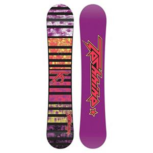 Snowboard Tech Nine Jib Orchid Womens Snowboard - The Technine women's Jib is the built for shredding the park and it has its sights set on female freestyle shred Betties of the world. Step your jib game up with the help of the Jib's soft flex and consistent pop. This board is fun and easy to ride, which is why it won TransWorld's Good Wood award two years in a row. Technine kept the ingredients in this board simple and sweet and just focused on what it takes to make a board that will be dependable all season long. If your thing is destroying park kickers, pressing up on boxes, or sliding some metal, the Jib Orchid is the perfect schtick for you. . Base Name: P-Tex, Core Name: Power Tech Core, Recommended Use: Freestyle, Stance Width: 22-24in, Stance Setback: Centered, Rocker Profile: Camber, Shape: Twin, Flex: Soft, Pipe Oriented: No, Board Width: Regular, Rocker Type: Traditional Camber, Core Material: Wood, Construction Type: Sidewall Construction, Hole Pattern: Standard 4 Hole, Magnatraction: No, Base Material: Extruded P-tex, Warranty: One Year, Skill Range: Beginner - Advanced Intermediate, Model Year: 2012, Product ID: 272227, Gender: Womens, Skill Level: Beginner - $149.94