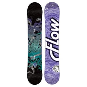 Snowboard Flow Venus Womens Snowboard - What do you get when take the second closet planet from the sun and turn it into a snowboard. You get the Venus by Flow is an entry to mid-level performance board. It is a thing of beauty at a reasonable price, keeping your wallet fat. The Venus offers a comfortable ride made for easy turns and mellow laps in the park, while being able to take a beating if you are ready to dish it out. EZ-Rock slight reverse camber in between your feet with camber underneath your feet for super easy turning while still giving you a nice, poppy flex. Rocker Bands of carbon are placed in the board for a smoother ride. Flows tried and true EZDT sidecut unleashes the best in any rider, for easier progression. Sit back and let the Venus do the work. All you have to do is look good. . Actual Turn Radius @ Specified Length: 8.1m(151cm), Base Name: Optix 2000, Core Name: TruFlex Core with Rocker Bands, Recommended Use: All-Mountain, Waist Width: 242mm(151cm), Stance Width: N/A, Stance Setback: 1.5cm, Special Features: Rocker Bands, Rocker Profile: Rocker with Camber, Shape: Directional, Flex: Medium, Pipe Oriented: No, Board Width: Regular, Rocker Type: EZ-Rock, Core Material: Wood with Carbon, Construction Type: Sidewall Construction, Hole Pattern: Standard 4 Hole, Magnatraction: No, Base Material: Extruded P-tex, Warranty: One Year, Skill Range: Beginner - Advanced Intermediate, Model Year: 2013, Product ID: 280834, Gender: Womens, Skill Level: Beginner - $199.90