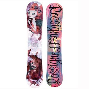 Snowboard Rossignol Diva MagTek Womens Snowboard - With all-terrain versatility and slay-it-all performance, the Diva MagTek snowboard from Rossignol will impress any ripping all-mountain diva on the slopes. Confident, aggressive women riders will appreciate the combination of AmpTek rocker which in the Divas case its 60% camber with 40% rocker. Magne-Traction 7M edges, provides women with a amazing sidecut for effortless float in the deep and ninja-like grip on the hardpack. With rich beautiful graphics the Diva will bring class and sass whether hitting huge booters in the backcountry our ripping on hardpack the Diva MagTek is were its at. . Actual Turn Radius @ Specified Length: 7.1m(148cm), Base Name: Sintered 4400, Core Name: TwinWood 3 with CBF2, Recommended Use: All-Mountain Freestyle, Waist Width: 242mm(148cm), Stance Width: 19-24in, Stance Setback: 13mm, Special Features: CBF-Continuous Basalt Fiber, Rocker Profile: Rocker with Camber, Shape: Twin, Flex: Stiff, Pipe Oriented: No, Board Width: Regular, Rocker Type: AmpTek Freestyle Rocker, Core Material: Wood, Construction Type: Sidewall Construction, Hole Pattern: Standard 4 Hole, Magnatraction: Yes, Base Material: Sintered P-tex, Warranty: One Year, Skill Range: Advanced Intermediate - Expert, Model Year: 2013, Product ID: 280940, Shipping Restriction: This item is not available for shipment outside of the United States., Gender: Womens, Skill Level: Advanced Intermediate - $299.99