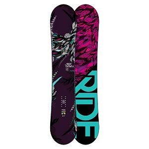 Snowboard Ride Farah Womens Snowboard 2013 - Oh my god Becky, look at her board. Now you can look like on of those rap stars girlfriends with this high style hybrid. The Farah features Rides Hybrid All Mountain rocker shape with an easy to ride full rocker profile in the nose, and a responsive, grippy camber zone through the rest of the deck. Also featuring LSD Pop Rods 2.0 which reduces the carbon in areas where ladies do not need or want it and keep it in the areas where you need it for snap and response. Along with that the Farah comes with the smooth riding Slimewalls, the lightweight urethane Membrain top sheet, and Carbon Array 5. The Farah is perfect for hard charging ladies who demand versatility, stability and smooth response for all riding conditions. Features: 2x4 Inserts. Actual Turn Radius @ Specified Length: 7.1m (@147cm), Base Name: Fusion 4000, Core Name: LSD Pop Rods 2.0, Stance Width: 483-508mm, Stance Setback: 3/4 Inch, Special Features: Carbon Array 5, Rocker Profile: Rocker with Camber, Shape: Directional Twin, Flex: Stiff, Rocker Type: Hybrid All Mountain, Core Material: Wood with Carbon, Construction Type: Sidewall Construction, Hole Pattern: Standard 4 Hole, Magnatraction: No, Base Material: Sintered P-tex, Warranty: One Year, Skill Range: Advanced Intermediate - Expert, Model Year: 2013, Product ID: 280988, Shipping Restriction: This item is not available for shipment outside of the United States., Gender: Womens, Skill Level: Advanced Intermediate, Board Width: Regular, Pipe Oriented: No, Waist Width: 240mm (@147cm), Recommended Use: All-Mountain - $349.99