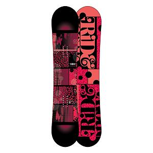 Snowboard Ride Compact Womens Snowboard - The Ride Compact provides premium pop with a hook free feel. The Compact features LowRize rocker which is an early rise in the tip and the tail that gives you a forgiving hook free ride, it makes the board super easy to control and roll over on edge perfect for that lady that is looking to stop just pushing snow and actually get that board on edge. With the proven urethane Slimewalls you are getting the smoothest ride this side of the Mississippi. You cannot forget that this board is a twin so you lady park riders with love the surfy feel of this freestyle twin whether you are riding regular or switch. Plus the Compact features a lightweight urethane top sheet that shimmers bright in the light, and the Cleave Edge provides the maximum durability in an edge on a board. This board will take your riding to the next level and you will look good getting there. Features: 2x4 Inserts. Actual Turn Radius @ Specified Length: 6.95m (@147cm), Base Name: Fusion 1500, Core Name: Foundation Tuned Core, Recommended Use: All-Mountain Freestyle, Waist Width: 238mm (@147cm), Stance Width: 483-559mm, Stance Setback: Centered, Special Features: Membrain Top Sheet, Rocker Profile: Rocker, Shape: Twin, Flex: Medium, Pipe Oriented: No, Board Width: Regular, Rocker Type: LowRize Rocker, Core Material: Wood, Construction Type: Sidewall Construction, Hole Pattern: Standard 4 Hole, Magnatraction: No, Base Material: Extruded P-tex, Warranty: One Year, Skill Range: Intermediate - Advanced, Model Year: 2013, Product ID: 280995, Shipping Restriction: This item is not available for shipment outside of the United States., Gender: Womens, Skill Level: Intermediate - $249.89