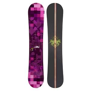Snowboard Radical 10 Rocker Womens Snowboard - The Radical 10 Rocker Womens Snowboard is an entry-level snowboard so you can start off strong and really get down the skills so that you can take on the whole mountain. The Rocker profile makes this snowboard very playful and forgiving so you can work on new maneuvers and tricks. It also provides a floaty feel as you start riding through fresh powder. With the 10 Radical Womens Snowboard you can gain the confidence and skills you need to become one of the best on the mountain. . Recommended Use: All-Mountain, Rocker Profile: Rocker, Flex: Soft, Core Material: Wood, Construction Type: Cap Construction, Warranty: One Year, Skill Range: Beginner - Advanced Intermediate, Product ID: 296962, Gender: Womens, Skill Level: Beginner - $179.99