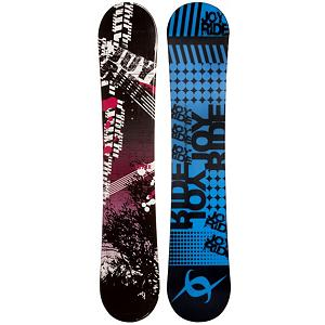 Snowboard JoyRide Bush Black Rocker Womens Snowboard - If you're an entry-level snowboarder looking to get better and gain the skills to take on the harder trails, then the JoyRide Bush Black Rocker Snowboard can help you get there. It has a Rocker profile so you will a more playful and forgiving board that is easy to learn on. It floats well in powder and you can always feel free to test out a few new tricks that you've been itching to try. Don't waste another dollar renting a snowboard, get your own and conquer the mountain with the JoyRide Bush Black Rocker Snowboard. . Recommended Use: All-Mountain, Rocker Profile: Rocker, Shape: Directional, Flex: Soft, Pipe Oriented: No, Board Width: Regular, Core Material: Wood, Construction Type: Cap Construction, Hole Pattern: Standard 4 Hole, Magnatraction: No, Base Material: Extruded P-tex, Warranty: One Year, Skill Range: Beginner - Advanced Intermediate, Product ID: 297037, Gender: Womens, Skill Level: Beginner - $179.99