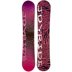 Snowboard JoyRide Cheetah Pink Womens Snowboard - The JoyRide Cheetah Pink Snowboard is a great entry-level board that will help build you confidence so that you can tackle the entire mountain one day soon. With its Camber profile you can expect to have great control with a strong edge hold so you can perfect the turns allowing you to face steeper terrain. You'll have a little pop to this board as well so you can start working on the park tricks that you've been itching to test out. If you're looking for a good board and you're tired of wasting the money renting then check out the JoyRide Cheetah Pink Snowboard. . Recommended Use: All-Mountain, Rocker Profile: Camber, Shape: Directional, Flex: Soft, Pipe Oriented: No, Board Width: Regular, Core Material: Wood, Construction Type: Cap Construction, Hole Pattern: Standard 4 Hole, Magnatraction: No, Base Material: Extruded P-tex, Warranty: One Year, Skill Range: Beginner - Advanced Intermediate, Product ID: 297078, Gender: Womens, Skill Level: Beginner - $149.99