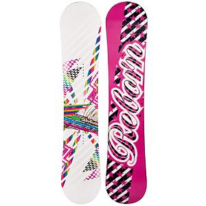 Snowboard SLQ Reborn White Womens Snowboard - If you're tired of renting and want an entry-level board to call your own then you should check out the SLQ Reborn White Womens Snowboard. You can really learn the rules of the mountain on this SLQ Reborn White and then confidently progress to the level you need to break them all. Boasting a camber profile, you'll have a great edge hold to help work on your turns. Combined with a soft flex, this board is poppy so you can start testing out the new tricks in the park and working on jumps. This is a very responsive and it will have some good snap to help you in the park too. If you want a quality board at a very friendly price then you'll want to pick up this SLQ Reborn White Womens Snowboard so you can grow confidently and soon be able to tackle the more challenging trails. . Recommended Use: All-Mountain, Rocker Profile: Camber, Shape: Directional, Flex: Soft, Pipe Oriented: No, Core Material: Wood, Construction Type: Cap Construction, Hole Pattern: Standard 4 Hole, Magnatraction: No, Base Material: Extruded P-tex, Warranty: One Year, Skill Range: Beginner - Advanced Intermediate, Product ID: 297340, Gender: Womens, Skill Level: Beginner - $99.99