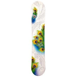 Snowboard Black Fire Special Lady Rocker Womens Snowboard - The Black Fire Special Lady Rocker Womens Snowboard is a very good entry-level snowboard so you can progress for just-a-beginner to queen of the mountain. This board offers a rocker profile which is forgiving making it an essential feature when just starting out on the mountain. It's also fairly flat underfoot so you can easily learn how to ride in the freshest of powder. This responsive board is a great choice to help save you some money instead of renting. This is one you can call your own and by getting used to the way it works will help with the progression of your skills. The Black Fire Special Lady Rocker Womens Snowboard is perfect for the entry-level rider who can't wait until the snow falls so they can head back to the mountain for another riding session. . Recommended Use: All-Mountain, Rocker Profile: Camber, Shape: Directional, Flex: Soft, Pipe Oriented: No, Core Material: Wood, Construction Type: Cap Construction, Hole Pattern: Standard 4 Hole, Magnatraction: No, Base Material: Extruded P-tex, Warranty: One Year, Skill Range: Beginner - Advanced Intermediate, Product ID: 297380, Gender: Womens, Skill Level: Beginner - $179.99
