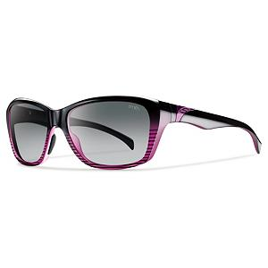 Snowboard Smith Spree Polarized Womens Sunglasses - The Smith Spree Polarized Sunglasses mix the past with the future that at first glance they look almost retro. Upon closer inspection you get a futuristic look to these great shades from Smith. The Spree sunglasses have a feminine look without being too girly and they will look good on you on and off the beach. Features: Lifetime Warranty. Lens Material: Plutonite, Frame Material: Grilamid, Polarized: Yes, Photochromatic: No, Interchangable Lens: No, Additional Lenses: No, Face Size: Medium, Nose Pads: Yes, Warranty: 1 Year, Lens Type: Polarized, Product ID: 270718, Frame Shape: Square, Gender: Women, Best Use: Fashion - $119.00