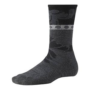 Snowboard SmartWool Reflections Leaf Womens Socks - The SmartWool Reflection Leaf Womens Socks are very comfy and cozy while also looking very cute on your feet. Made with soft Merino Wool the Reflection Leaf features WOW Technology in the high impact heel and foot zones to make them more durable and comfortable. They are super soft and with its strategic mesh zones they will help to keep your feet dry. A supportive arch and ankle brace will help keep the socks in place so that they feel comfortable on your feet and in your boot. The stylish print on the SmartWool Reflection Leaf Womens Socks will have you wanting to roll up your pant legs so you can show them off. . Warranty: Lifetime, Material: Wool/Synthetic Blend, Waterproof: No, Type: Lifestyle, Weight: Mid, Material: 69% Merino Wool, 29% Nylon, 2% Elastane, Insulated: No, Model Year: 2013, Product ID: 246140 - $20.95