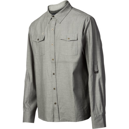 Entertainment Welding isn't a bad gig. You get to play with fire, take plenty of smoke breaks, and your mask matches the long-sleeve button-down &Work Vocation Shirt so well that catch yourself wearing it to the bar on Fridays. - $41.37