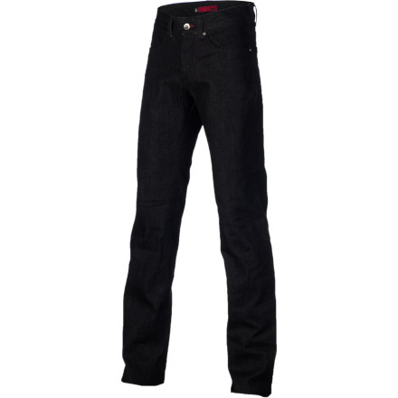 Entertainment From putting in time high above the city on an I-beam or pushing wood at your local skatepark, the workwear-inspired &Work 6 Pocket Denim Pant is sure to have you looking and feeling proper. This clean-looking pant also features a raw finish that doesn't mind getting dirty. - $41.97