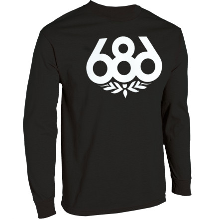 The 686 Wreath T-Shirt would take a bullet for you. - $26.00