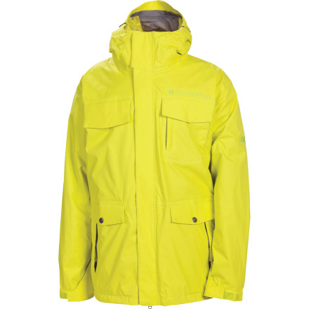 Snowboard The 686 Smarty Command Insulated Jacket gets you ready for a full season of on-hill action. Remove the zip-out Smarty fleece liner on warm spring days, wear it around town in the off-season, and run all three together when you need insulating power on those super cold mid-winter days. - $108.00