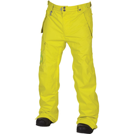 Snowboard Looking for some solid shred pants in a slimmed-down cut The Mannual Data Pant features 686's Street Fit for a denim-inspired look that's tailored but not tight. Infidry-8 fabric and the Air-Flo vents protect your jimmies from excessive rustling while hot-lapping the park. - $52.00