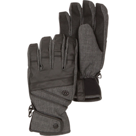Snowboard Whether you're orbiting around the resort or making a freeride-fueled jettison down backcountry chutes and open pow fields, the 686 Satellite Insulated Glove brings you the warmth and waterproofing to keep your snow-slashing sessions astronomically fun. - $35.75