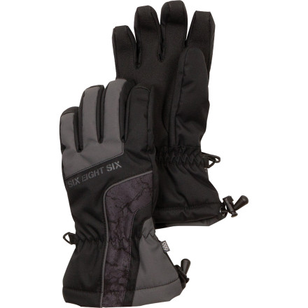 One can only assume the name of the 686 Kids' Cracked Insulated Glove describes what your kids' hands will look like on a cold winter's day if they don't wear them. Give them a helping hand and stock up on this waterproof insulated glove. - $24.00