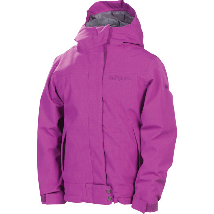 Snowboard What is smart style The kind that can be applied to all phases of winter, like the intelligent design that is the 686 Girls' Smarty Ginger Insulated Jacket. The Smarty Ginger adds warmth to cold winter days for girls who prefer to spend their free time learning the art of shred and look good doing it. - $63.00