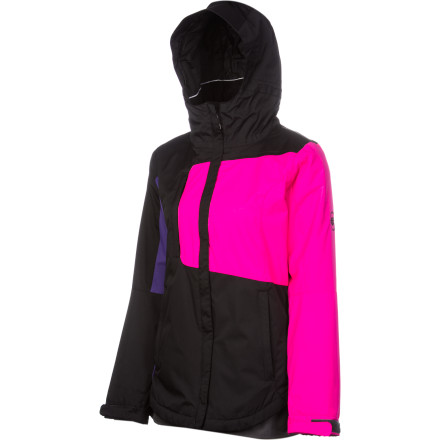 Snowboard It may not be Everest-grade material, but when you're a weekend warrior who needs all the fancy bells and whistles The 686 Mannual Loop Insulated Women's Jacket has you covered for most days of the season with 5K-rated fabric to keep moisture out and synthetic insulation to help you stay warm, so you can make the most out of your precious days on the mountain. - $68.00
