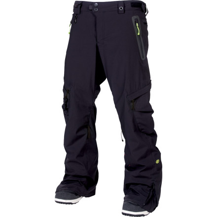 Snowboard Thanks to four-way stretch outer fabric, the articulated Expedition Fit, and a removable compression liner, the 686 Smarty Compression Cargo Pant gives you the mobility you need to pull off the ninja-est of maneuvers. - $210.00