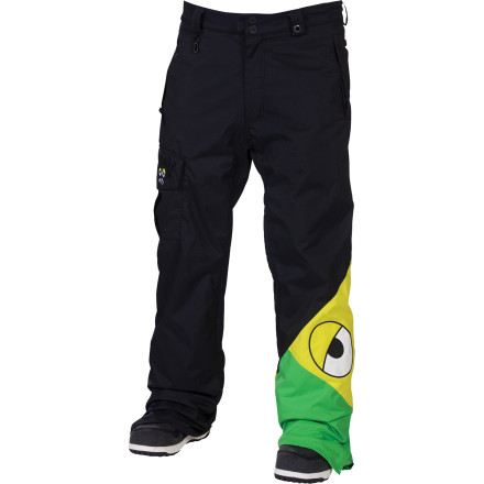 Snowboard Snaggletooth knows what's up in the world of snowboard fashionthat's why his signature Snaggleface Pants feature 686's denim-inspired Street Fit for a modern look that still lets you move. - $81.00