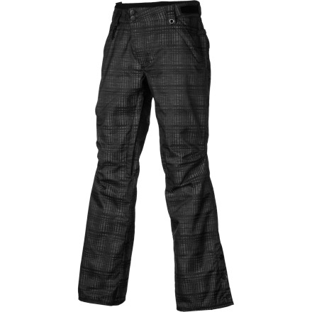Snowboard Sure it's bad out there: blustery skies, cold winds, and underlying ice. Hey, not all the days can be blue skies and waist-deep, right Fortunately the 686 Women's Reserved Mission Insulated Pant features the warmth and waterproofing to keep you fighting the good fight. - $72.00