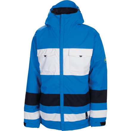 Snowboard The 686 Mannual Bridge Insulated Jacket hooks up quality storm protection and mid-winter insulation without cutting into your lift-ticket fund. Air-Flo vents let you dump excess heat when things heat up on your spring break trip. - $90.00