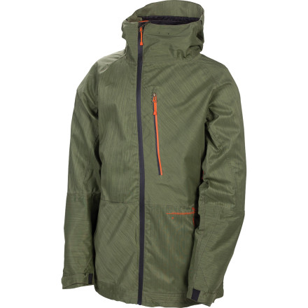 Snowboard The 686 Plexus Hydra Thermagraph Insulated Jacket offers backcountry-worthy waterproofing and warmth, thanks to an Infidry-20 laminate and body-mapped Infi-loft insulation panels that give you warmth right where you need it most. - $168.00