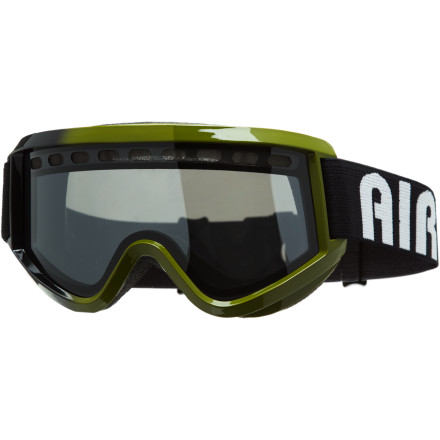 Entertainment Say there, young extreme-sports participantdo you fancy a pair of goggles that will allow you to complete even the most radical of aerial stunts Reach for the Airblaster Air Goggle and get ready to 'send it', 'throw down', or whatever it is that you kids say these days. - $59.97