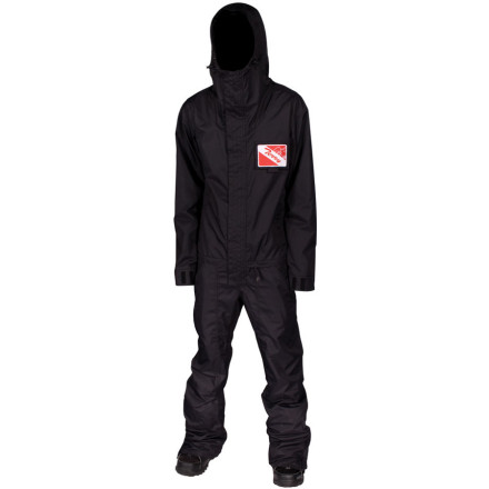 Ski Like the comfortable yet high-tech one-piece an astronaut wears as he hovers above the earth, the Airblaster Freedom Suit will take you to places beyond your wildest dreams, but will keep you as comfy as if you were reading a mystery novel and sipping Earl Grey by the fireplace. - $149.98