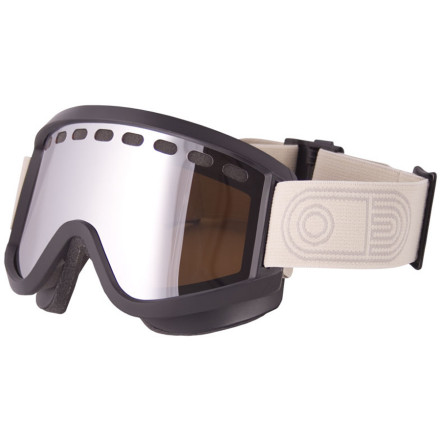 Ski Once you try the Airblaster Airpill Goggle, you'll wonder why you've been spending twice as much on goggles that are half as good. The wide frame sits close to your face so you have unrestricted peripheral vision without looking like an astronaut, and you never have to worry about scratching your lens again with the Baker lens. Simple styling and ingenuous design make for a goggle that looks good, doesn't try too hard, and works. - $53.97