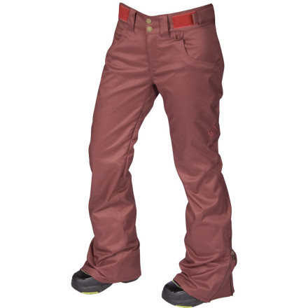 Snowboard If the boys get the My Sister's Pant, it's only fair if we get the Airblaster My Brothers Pant right Don't let the name fool you, this technical pant packs in the style with  a women-specific fit making it both tough and femininesound familiar - $109.97