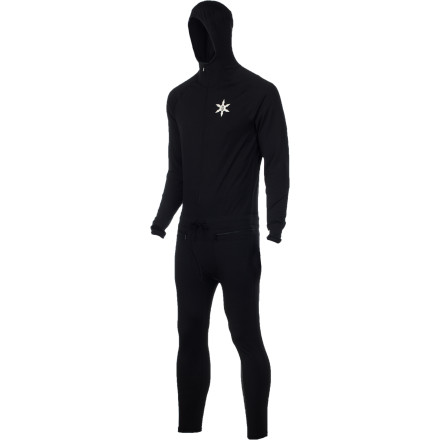 Snowboard Airblaster claims their Ninja Suit is the best long underwear on the planetand darn it, they may be right. The one-piece design completely seals out snow to keep you warm, dry, and stoked from first chair to passing out on your couch with sore legs. - $60.47