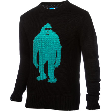 You may not have a Sasquatch as a freind, but the Airblaster Sassy Sweater is the next best thing. That's because Sasquatch don't tend to enjoy being around humanity all that much, but we all would love to hug a big ol' 'squatch if we ever got the chance. - $55.97