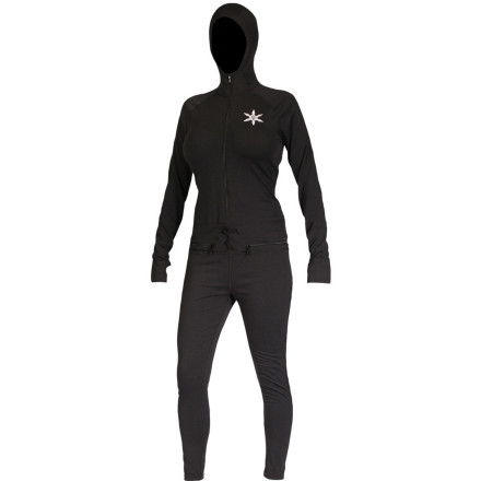 Fitness Deliver a fierce roundhouse-kick straight to head of foul-weather follies and wet-weather chills with the Airblaster Women's Ninja Suit. Not only will the Ninja Suit increase your warmth while riding, the Air Tech fabric will also will wick away moisture and give you a little extra stretch  for fighting the good fight. - $60.47