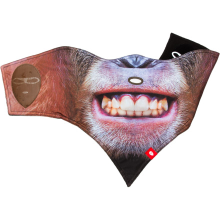 Wear the Airhole Animal Series Mask to get in touch with your primal side on the hill. Of course, you still get Airhole's patented, uh, airholeallowing you to drink, puff, or let out bloodcurdling mating calls with ease. - $24.47