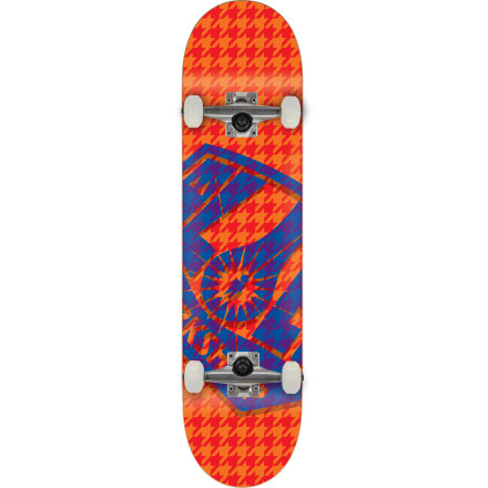 Skateboard It is required that as soon as you receive the Alien Workshop Tweed Tweak Complete Skateboard that you head to your nearest skatepark and do the most tweaked-out grab you've ever done in order to christen it properly. A really steezy frontside bluntslide would also be acceptable. - $79.96