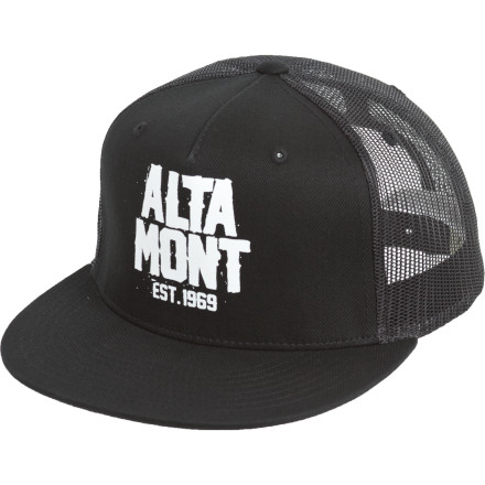 Thankfully you decided not to drive this leg of the road trip. Because as you bob your head to the music while wearing the Altamont Feds Trucker Hat, you realize that getting wild in the backseat was one of the greatest ideas ever. - $9.98