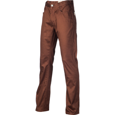 The Altamont Sherman Wilshire Five Pocket Pant features an updated slouch fit that's comfy up top and tapered down to the ankle. - $34.77