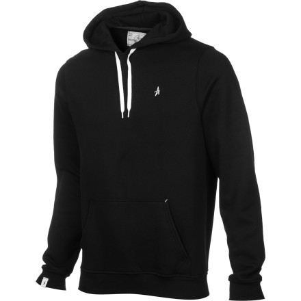 In order to optimize your identity-concealing capabilities, Altamont included a drawstring hood on its Basic Pullover Hooded Sweatshirt. Make sure to use your new powers for evil and never for good. - $43.16
