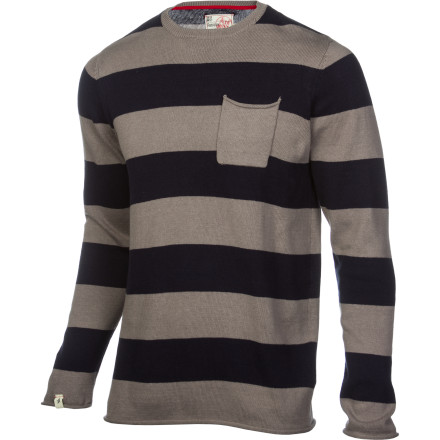 Skateboard When it gets a little chilly outside, put on the Altamont Curb Crusher Men's Sweater when you go skate and then you don't even have to change before you go to your mom's house afterward to hide how grimy you really are. - $41.96
